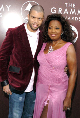 Star Jones with husband Al Reynolds The 47th Annual GRAMMY Awards - Arrivals Staples Center - Los Angeles, CA - 2/13/05