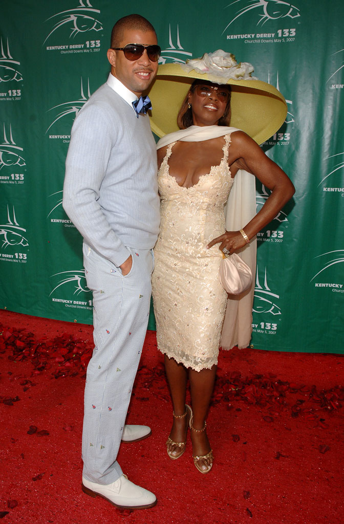 Al Reynolds and Star Jones Reynolds at the 133rd Kentucky Derby.