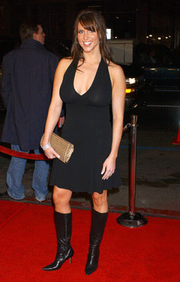 Premiere: Stephanie McMahon at the Hollywood premiere of New Line Cinema's Blade: Trinity - 12/7/2004