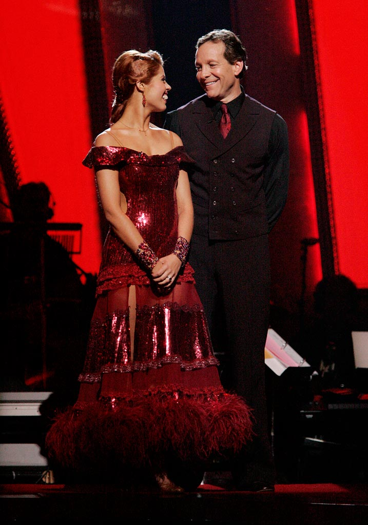 Steve Guttenberg and his professional partner, Anna Trebunskaya, are the third couple to be eliminated from the 6th season of Dancing with the Stars.