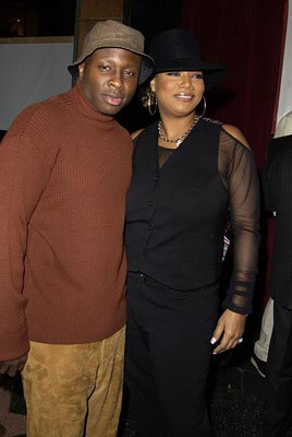 Premiere: Steve Harris and Queen Latifah at the LA premiere of Touchstone's Bringing Down the House - 3/2/2003