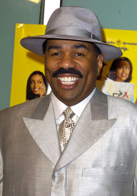Premiere: Steve Harvey at the L.A. premiere of Fox Searchlight's Johnson Family Vacation - 3/31/2004