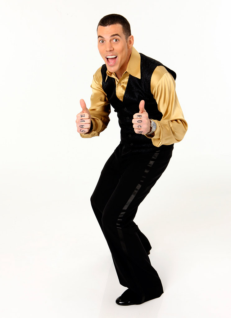 """Jackass"" Steve-O will attempt his greatest stunt ever as a member of the Season 8 cast of ""Dancing with the Stars."""