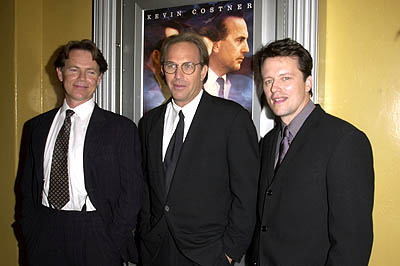 Premiere: Bruce Greenwood, Kevin Costner and Steven Culp at the Westwood premiere of New Line's Thirteen Days - 12/19/2000