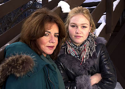 Stockard Channing and Julia Stiles Sundance Film Festival Day 2 Park City, Utah 1/18/2001