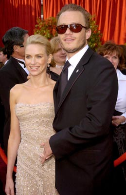 Naomi Watts and Heath Ledger 76th Academy Awards - 2/29/2004 Stuart Townsend