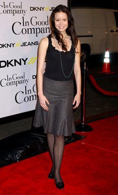 Premiere: Summer Glau at the Hollywood premiere of Universal Pictures' In Good Company - 12/6/2004