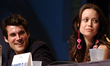 Sean Maher and Summer Glau of Serenity San Diego Comic-Con, 7/16/2005