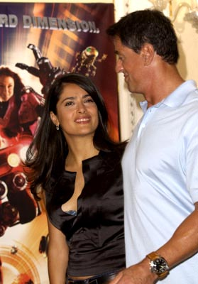 Salma Hayek and Sylvester Stallone Spy Kids 3-D: Game Over Venice Film Festival - 8/29/2003