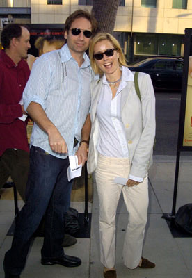 Premiere: David Duchovny and Tea Leoni at the Beverly Hills special screening of Lions Gate Films' Fahrenheit 9/11 - 6/8/2004 Téa Leoni