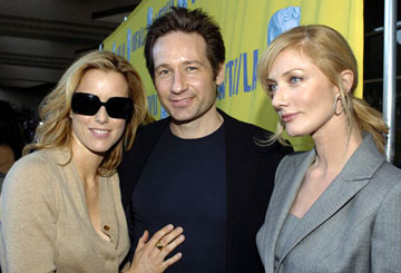 Tea Leoni, David Duchovny and Joely Richardson BAFTA/LA Tea Party - 1/15/2005 Park Hyatt Hotel, Los Angeles, CA