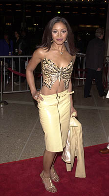 Premiere: Tamala Jones at the Century City premiere of Screen Gems' The Brothers - 3/21/2001