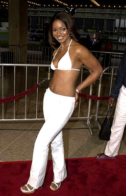 Premiere: Tamala Jones at the premiere of Screen Gems' Two Can Play That Game - 8/29/2001