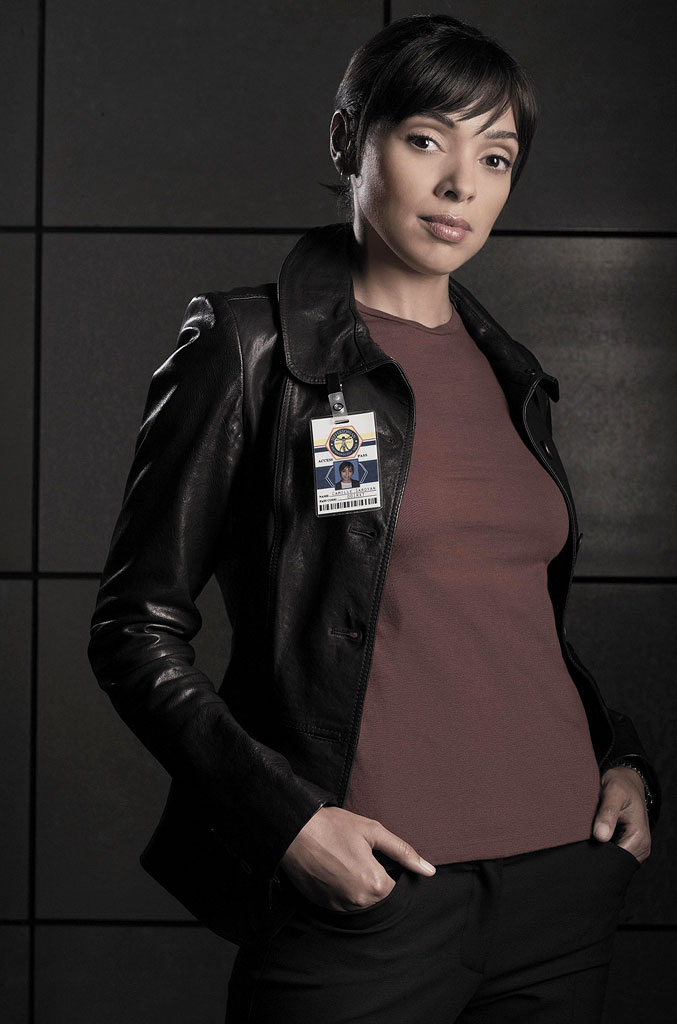 Tamara Taylor stars as Dr. Camille Saroyan in Bones on FOX.