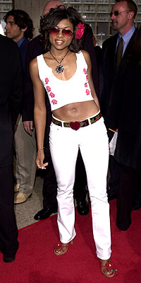 Premiere: Taraji P. Henson at the LA premiere of MGM's What's The Worst That Could Happen - 5/22/2001