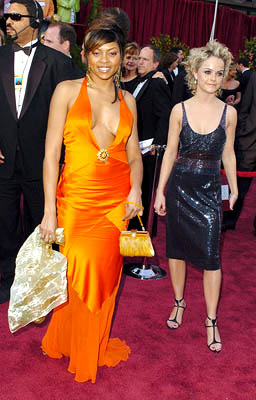 Taraji P. Henson and Taryn Manning 77th Annual Academy Awards - Arrivals Hollywood, CA - 2/27/05