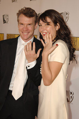 Tate Donovan and Corinne Kingsbury 11th Annual Critics' Choice Awards Santa Monica, CA - 1/9/2006