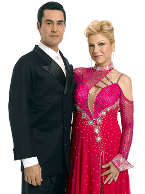 Tatum O'Neal and partner Nick Kosovich ABC's Dancing With the Stars