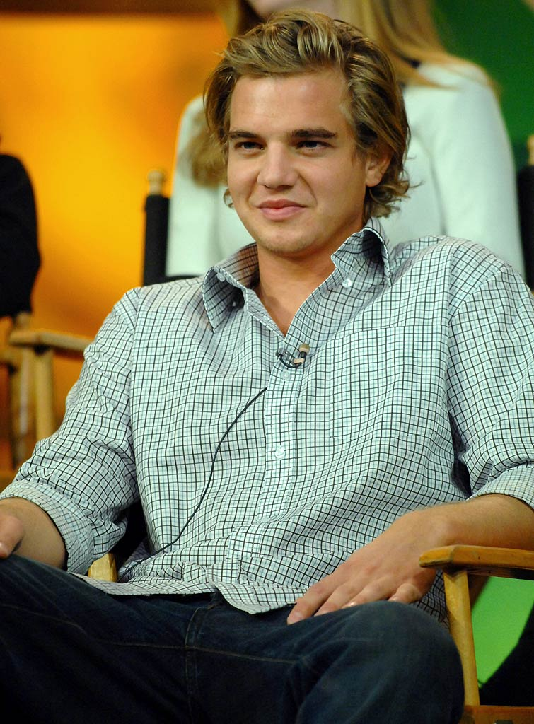 "Taylor Handley of ""Hidden Palms"" at The CW Winter 2007 TCA Press Tour."