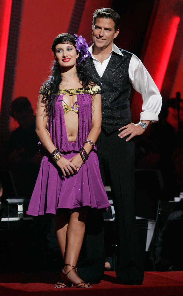 Ted McGinley and his professional partner Inna Brayer, are the second couple to be eliminated from the 7th season of Dancing with the Stars.