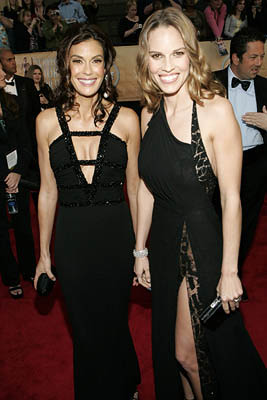 Teri Hatcher and Hilary Swank Screen Actors Guild Awards - 2/5/2005