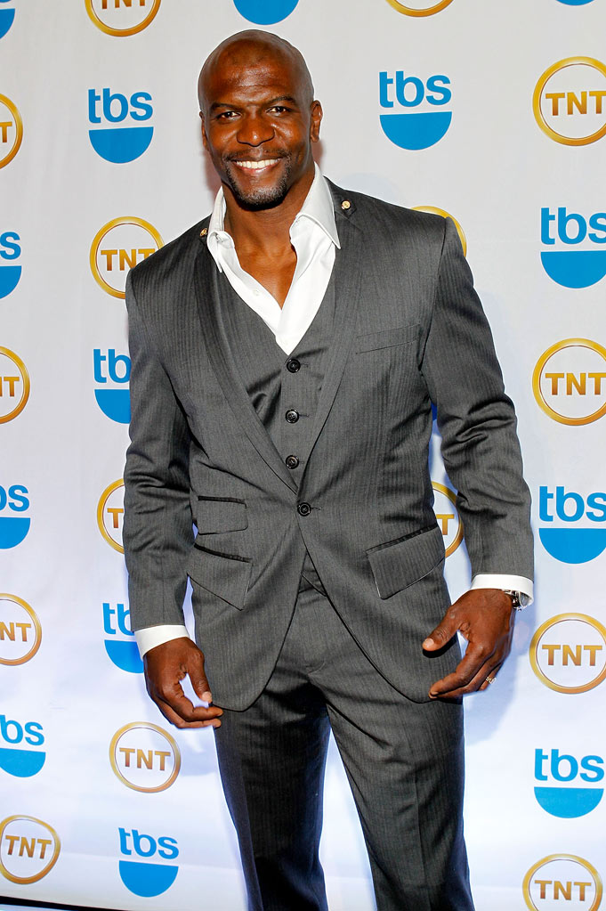 Terry Crews attends the TEN Upfront presentation at Hammerstein Ballroom on May 19, 2010 in New York City.
