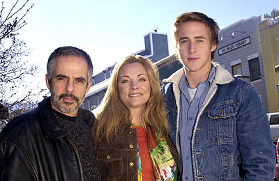 Henry Bean, Theresa Russell and Ryan Gosling of The Believer Sundance Film Festival 1/21/2001