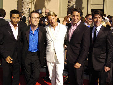 Jai Rodriguez, Ted Allen, Carson Kressley, Thom Filicia and Kyan Douglas 2004 Emmy Creative Arts Awards Arrivals - 9/12/2004 Thom Filicia