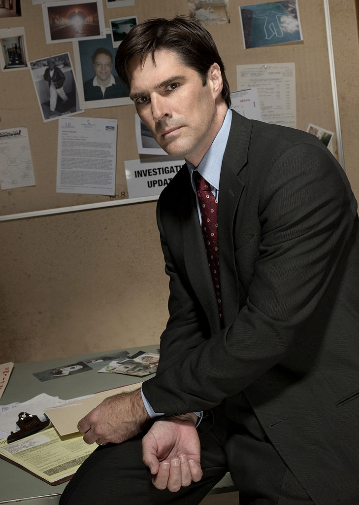 Thomas Gibson stars as Aaron Hotch in Criminal Minds on CBS.