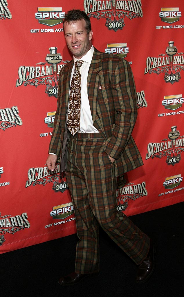 "Thomas Jane arrives to Spike TV's ""Scream Awards 2006"" at the Pantages Theatre on October 7, 2006 in Los Angeles, California."