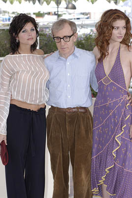 Tiffani Thiessen, Woody Allen and Debra Messing Hollywood Ending Cannes Film Festival - 5/15/2002
