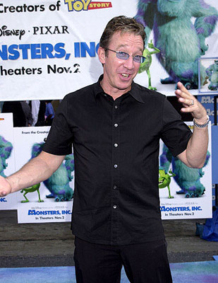 Premiere: Tim Allen at the Hollywood premiere of Monsters, Inc. - 10/28/2001