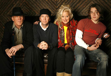 Nick Nolte, Timothy Hutton, Sally Kirkland and Trevor Morgan 'Off the Black' Portraits - 1/20/2006 2006 Sundance Film Festival