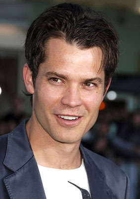 Premiere: Timothy Olyphant at the Westwood premiere of Universal Pictures' The Break-Up - 5/22/2006