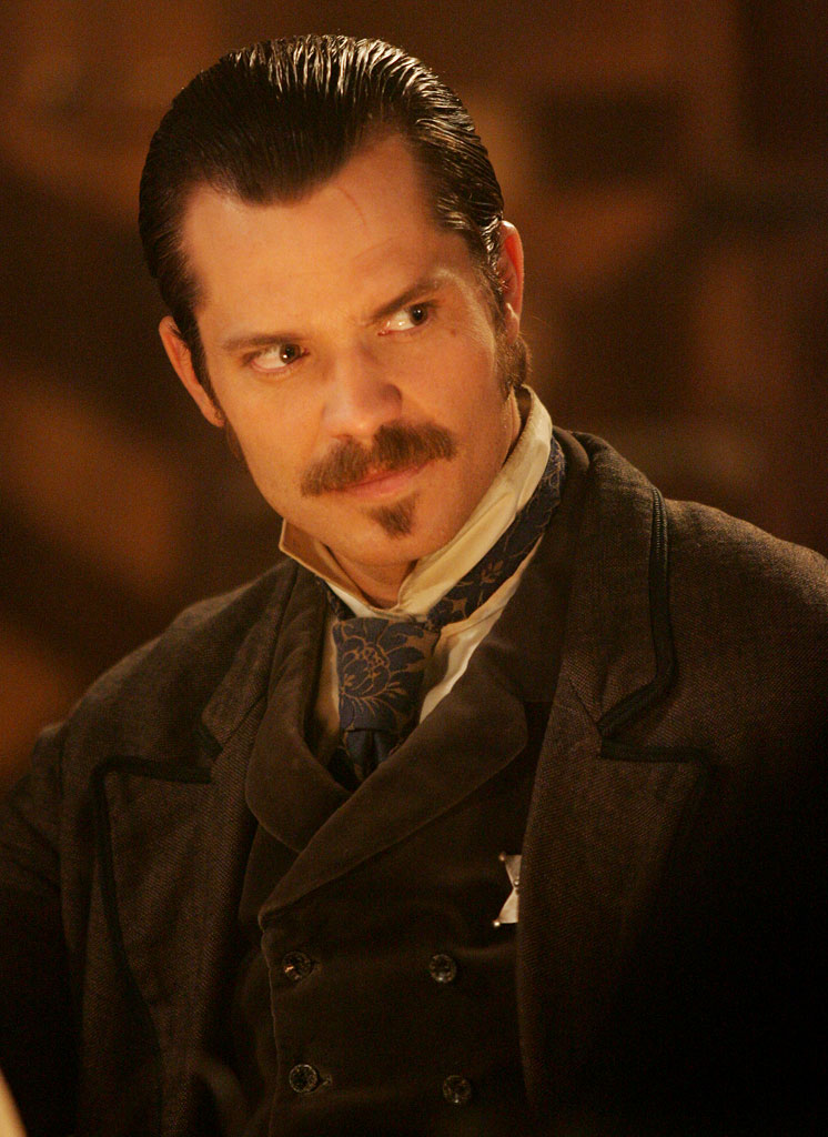 Timothy Olyphant stars in Deadwood on HBO.