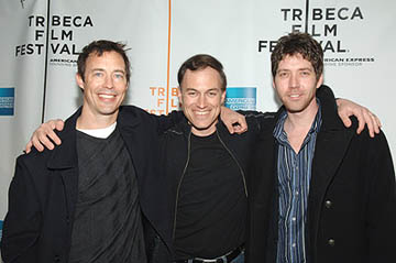 Tom Cavanagh, Evan Oppenheimer and James Barbour Alchemy premiere - Tribeca Film Festival April 25, 2005 - New York, NY