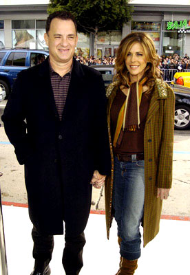 Premiere: Tom Hanks and Rita Wilson at the Hollywood premiere of Warner Bros. The Polar Express - 11/7/2004