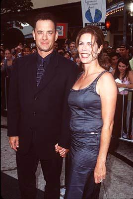 Premiere: Tom Hanks and Rita Wilson at the Westwood premiere of Dreamworks' Saving Private Ryan - 7/21/1998