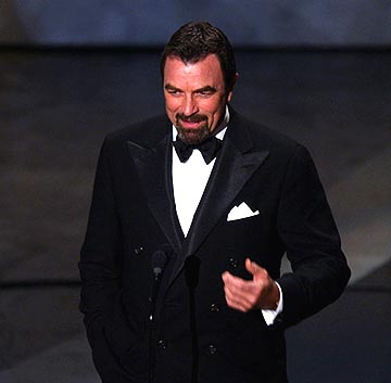 "Tom Selleck introducing the ""In Memoriam"" segment Emmy Awards - 9/19/2004"