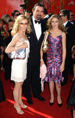 Tom Selleck with wife Jillie and daughter Hannah 56th Annual Emmy Awards - 9/19/2004