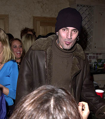 Tommy Lee Wet Hot American Summer Party Sundance Film Festival 1/25/2001