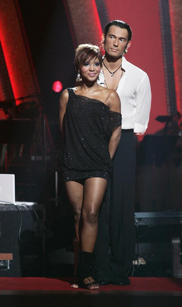Toni Braxton and Alec Mazo are the sixth couple to be eliminated on the seventh season of Dancing with the Stars.