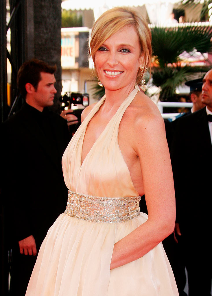 "Toni Collette attends the premiere for the film ""Chacun Son Cinema"" at the Palais des Festivals during the 60th International Cannes Film Festival on May 20, 2007 in Cannes, France."