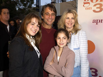 Premiere: Tony Danza and family at the L.A. premiere of Revolution Studios' 13 Going on 30 - 4/14/2004