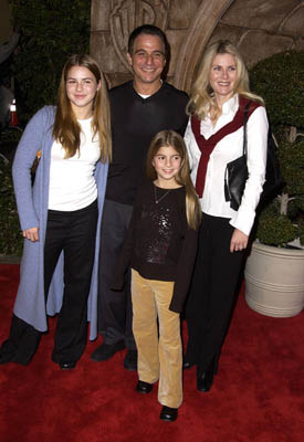 Premiere: Tony Danza and family at the Westwood premiere of Warner Brothers' Harry Potter and The Sorcerer's Stone - 11/14/2001