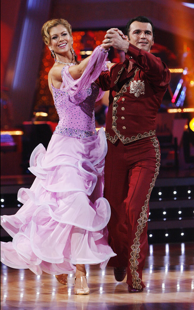"Kathy Ireland and Tony Dovolani perform the Quickstep to ""Shall We Dance?"" from ""The King and I"" on ""Dancing with the Stars."""