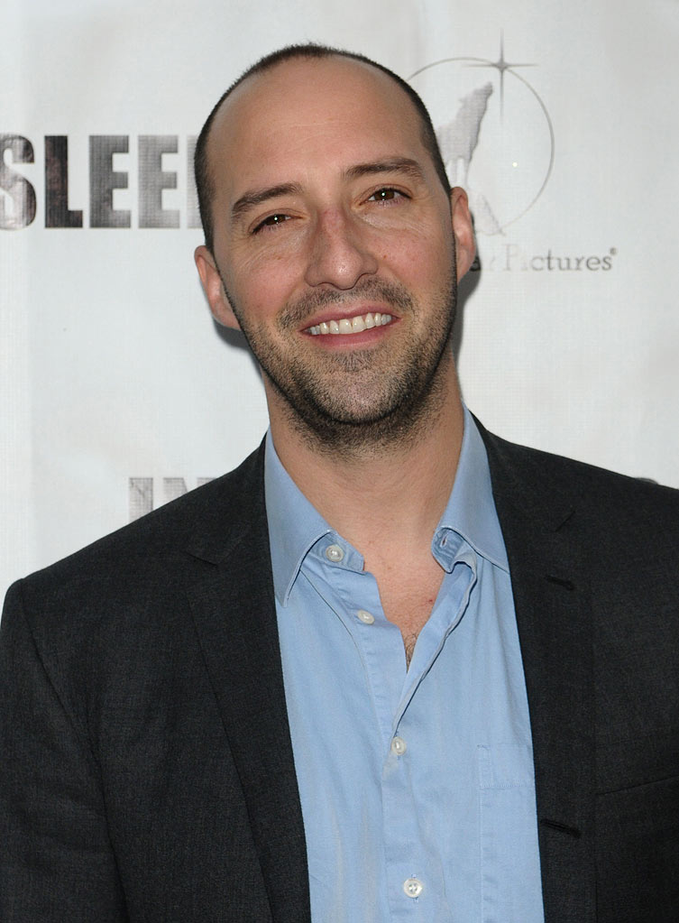 "Tony Hale attends the premiere of ""In My Sleep"" at ArcLight Cinemas on April 15, 2010 in Hollywood, California."