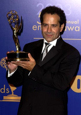"Tony Shalhoub Outstanding Actor in a Comedy ""Monk"" 55th Annual Emmy Awards - 9/21/2003"