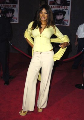 Premiere: Traci Bingham at the Hollywood premiere of Touchstone Pictures' Ladder 49 - 9/20/2004