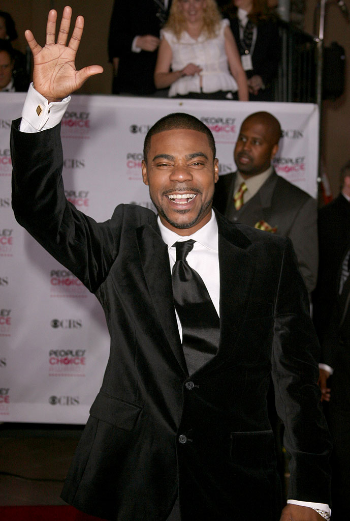 Tracy Morgan at The 33rd Annual People's Choice Awards.